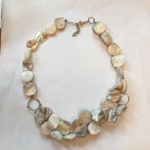 Silpada Sterling Silver and Shell Necklace.